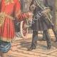 DÉTAILS 02 | Départ du Chah de Perse en automobile vers l'Europe - Téhéran - 1905