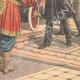 DÉTAILS 05 | Départ du Chah de Perse en automobile vers l'Europe - Téhéran - 1905