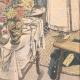 DETAILS 06   Admiral Togo visits Admiral Rojestvenski at Sasebo hospital - Japan - 1905