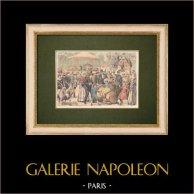 Wizyta w Jardin D'acclimatation - Paryż - 1905 r