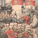 DETAILS 01 | Entente cordiale - Edward VII of England receives Admiral Caillard - Portsmouth - 1905