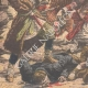 DÉTAILS 05 | Massacres arméno-tatars - Répression par les Cosaques - Bakou - 1905