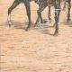 DÉTAILS 03   Édouard VII d'Angleterre passe en revue un régiment de Highlanders - Seaforth - Ecosse - 1905