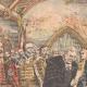 DETAILS 02   Austro-hungarian crisis - Franz Joseph I he receives the Hungarian Magnates - 1905