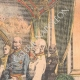 DETAILS 05   Austro-hungarian crisis - Franz Joseph I he receives the Hungarian Magnates - 1905