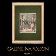 Interrogatorio de los dos ladrones del Comptoir d'Escompte de Paris - 1905