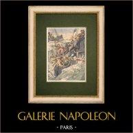 Sauvetage des matelots de l'Hélène par le chalutier Gris-Nez - Angleterre - 1905