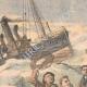 DETAILS 01 | Rescue of the Hélène sailors by the Gris-Nez trawler - England - 1905
