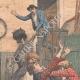 DÉTAILS 01   Deux bohémiennes attaquent une ferme près de Montluçon - Auvergne - 1905