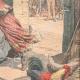 DÉTAILS 04   Deux bohémiennes attaquent une ferme près de Montluçon - Auvergne - 1905