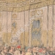 DÉTAILS 01 | Le roi Haakon VII et son épouse reçoivent des paysans norvégiens - Christiana - Norvège - 1905