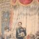 DÉTAILS 03 | Le roi Haakon VII et son épouse reçoivent des paysans norvégiens - Christiana - Norvège - 1905