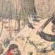 DETAILS 02   A game warden buried alive by two highwaymen - Les Essards - France - 1905