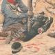 DETAILS 04   A game warden buried alive by two highwaymen - Les Essards - France - 1905