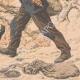 DETAILS 06   A game warden buried alive by two highwaymen - Les Essards - France - 1905