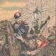 DÉTAILS 03 | Grève des postiers en Russie - Arrestation des chefs - Saint-Pétersbourg - Russie - 1905