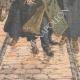 DÉTAILS 05 | Grève des postiers en Russie - Arrestation des chefs - Saint-Pétersbourg - Russie - 1905