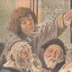 DETAILS 01   The king drinks - Jacob Jordaens - Flemish painter - XVIIth Century