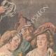 DETAILS 02   The king drinks - Jacob Jordaens - Flemish painter - XVIIth Century