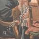 DETAILS 03   The king drinks - Jacob Jordaens - Flemish painter - XVIIth Century