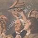 DETAILS 05   The king drinks - Jacob Jordaens - Flemish painter - XVIIth Century