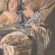 DETAILS 06   The king drinks - Jacob Jordaens - Flemish painter - XVIIth Century
