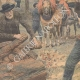 DETAILS 02 | Winter works in the forests - Woodcutter - Loggers - France - 1907
