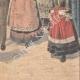 DÉTAILS 06 | Jour des mariages à Plougastel - Bretagne - 1907
