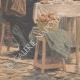 DETAILS 05 | Scene of the everyday life - Breakfast on the street in Paris - 1907