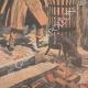 DÉTAILS 05 | Un brasero dans les rues de Paris - 1907