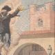 DÉTAILS 03 | Samedi saint en Espagne - Coutumes religieuses - 1907