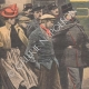 DETAILS 02   After the Rafle, offenders are taken to the police station - Paris - 1907