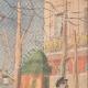DETAILS 03 | Pruning of trees in Paris - 1907