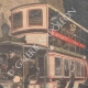 DETAILS 03 | Collision between a fiacre and a bus in Paris - 1907