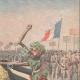 DETAILS 03 | Wine consumption decreases in France - Caricature - 1907