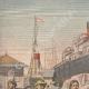 DETAILS 01   Strike - Emigrants' camp on the quays of Le Havre - France - 1907