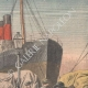 DETAILS 03   Strike - Emigrants' camp on the quays of Le Havre - France - 1907