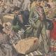 DETAILS 04   Strike - Emigrants' camp on the quays of Le Havre - France - 1907