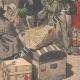 DETAILS 06   Strike - Emigrants' camp on the quays of Le Havre - France - 1907