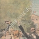 DETAILS 01   Revolt of Languedoc winegrowers - Marcelin Albert - Argeliers - France - 1907