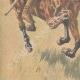 DÉTAILS 05 | Chasse aux lions au Transvaal - Afrique  du Sud - 1907