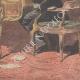 DÉTAILS 06   Révolte des vignerons - Marcelin Albert chez Georges Clémenceau - Paris - 1907