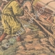 DETAILS 04 | An automobile in a marsh saved by Mongol riders - Asia - 1907