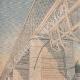 DETTAGLI 01 | Ponts-de-Cé - Crollo del ponte - Un treno cade nella Loira - 1907