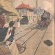 DETAILS 04 | A balloon falls on the rail tracks - Lyon-Marseille - 1907