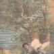 DÉTAILS 01   Des promeneurs surpris par des tirs d'obus - Dun-sur-Auron - 1907