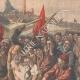 DÉTAILS 02 | Les Roufions - Lucien Jonas - Peintre français - Grève des mineurs - Salon 1907