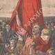 DÉTAILS 07 | Les Roufions - Lucien Jonas - Peintre français - Grève des mineurs - Salon 1907