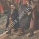 DÉTAILS 08 | Les Roufions - Lucien Jonas - Peintre français - Grève des mineurs - Salon 1907