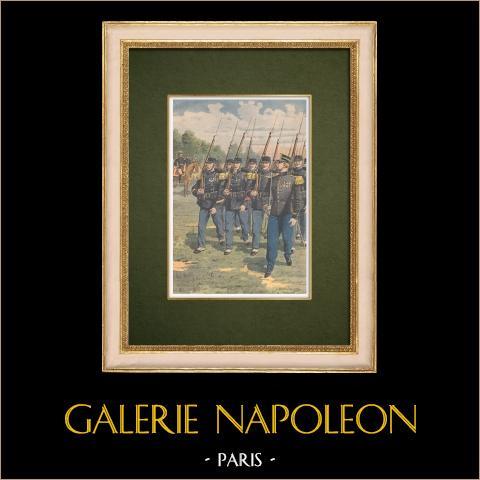 Koloniale Infanterie - Franse Verovering van Marokko - 1907 |
